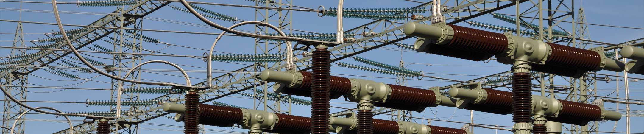 Kraftwerk Stromleitung